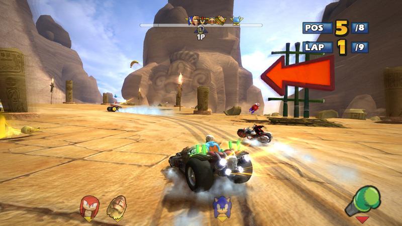 Sonic Sega All Star Racing Pc Analizando Juegos