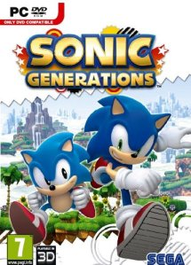 Sonic Generations PC Cover